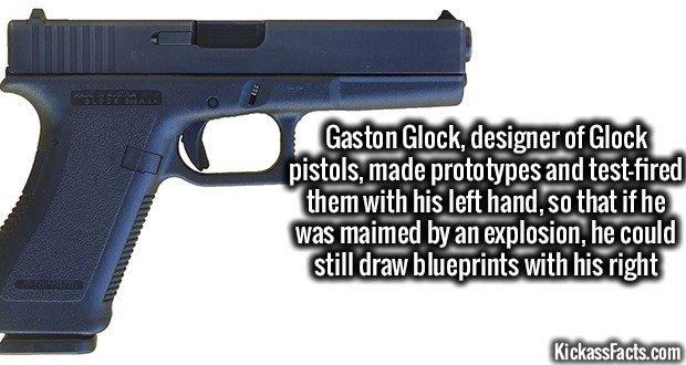 1274 Glock Pistols