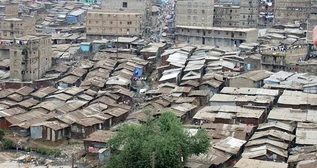 Mathare slums, Nairobi, Kenya-Most Densely Populated Places on Earth