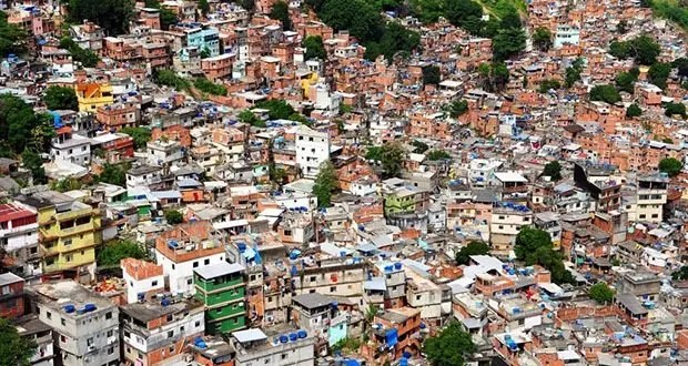 Rocinha favela, Rio de Janeiro, Brazil-Most Densely Populated Places on Earth