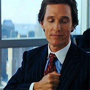 Matthew McConaughey chest bump
