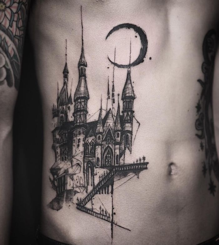 35 of the Best Architecture Tattoos or How To Have Your World on a