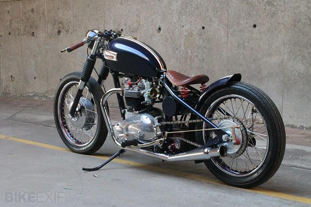 1969 Triumph Bonneville Bobber Bike Exif