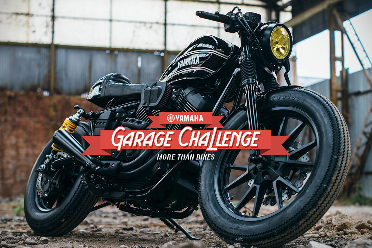 Garage Yamaha Bolts From The Blue Yamaha Garage Challenge Bike Exif