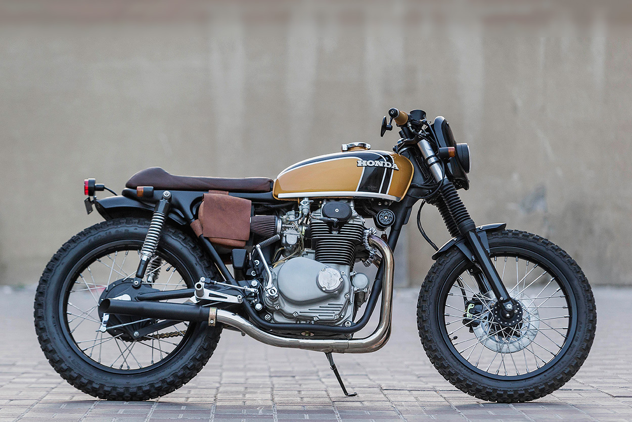 Garage Honda Sion From Texas Barn To The Persian Gulf A Cb350 From Dubai Bike Exif