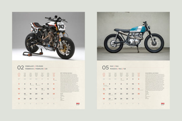 On Sale Now The 2019 Motorcycle Calendar Bike EXIF