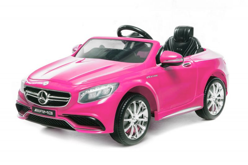 Elektroauto Für Kinder Elektroauto Für Kinder Mercedes Amg S63 In Pink