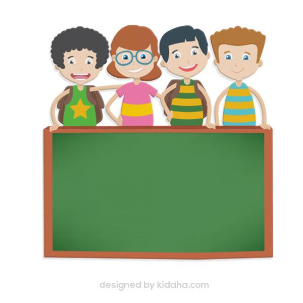 Free kids,friend  blackboard clip arts,Free education clip arts for