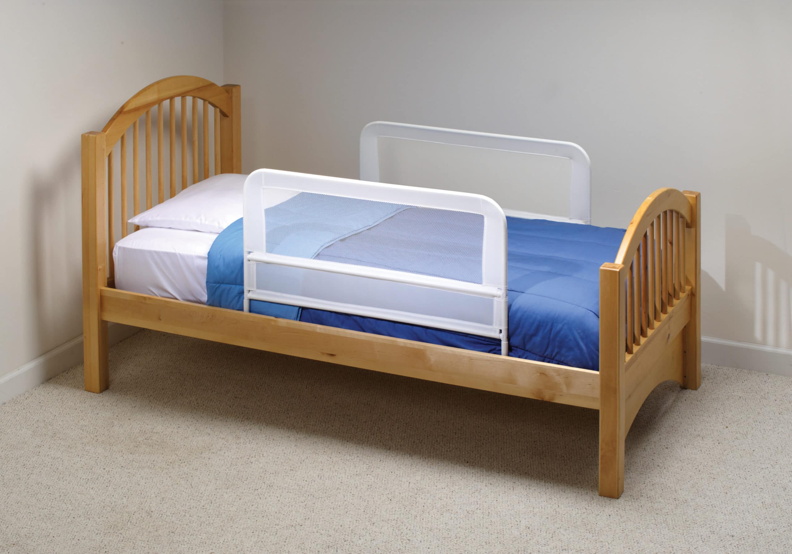 Bed Aids Children S Mesh Bed Rail Telescopic Double Pack