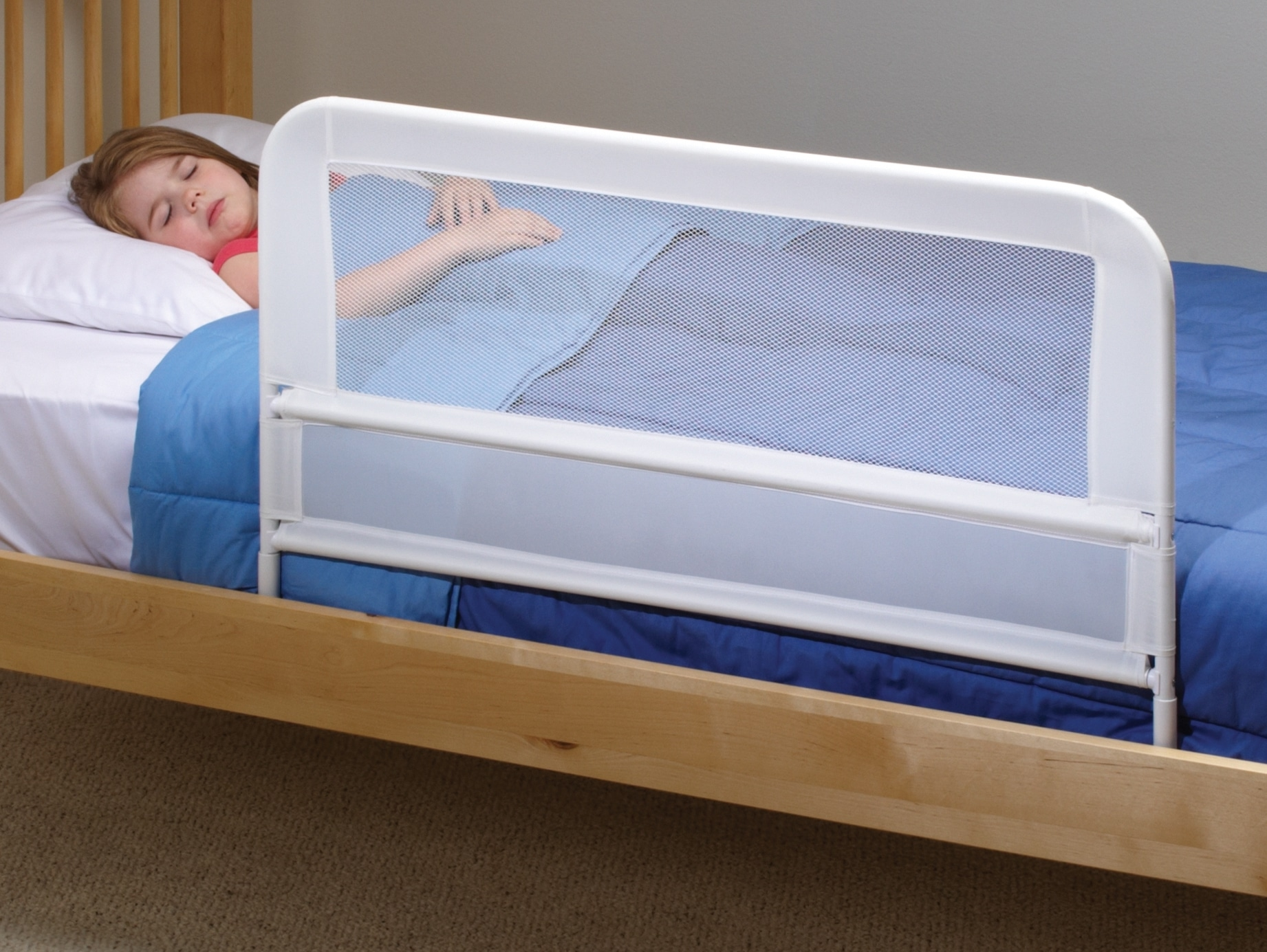 Bed Aids Children S Mesh Bed Rail Telescopic