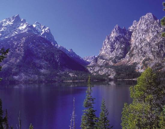 The grandeur of the Grand Tetons.