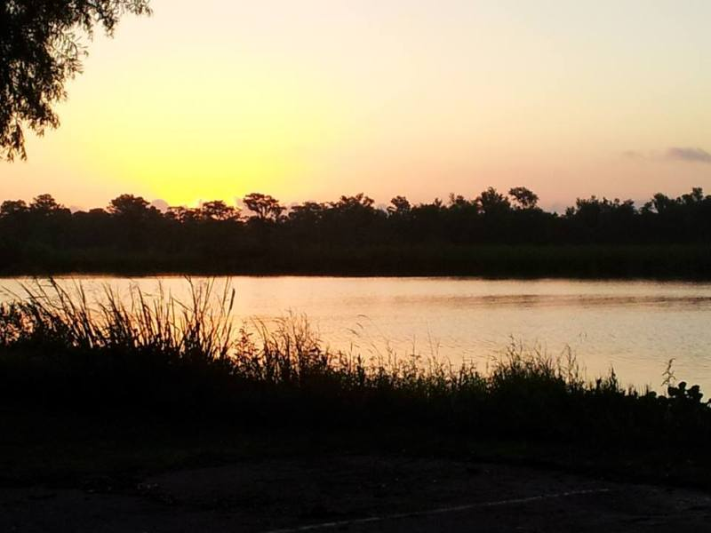 The beauty of the Bayou at dusk.