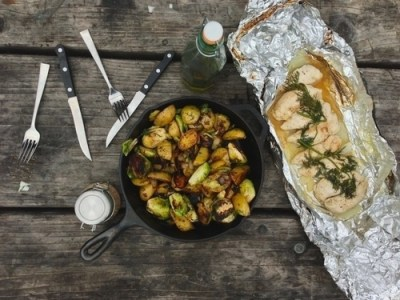 Campfire gourmet is easy with foil and the right recipe.