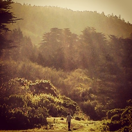 Leo Montag on a #microadventure in the wilds of Northern California.