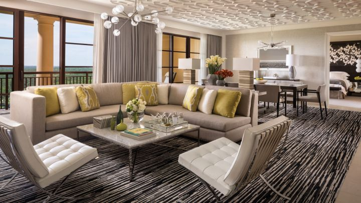 The Four Season franchise is known for their spacious rooms and their 2014 Orlando hotel once again delivers.