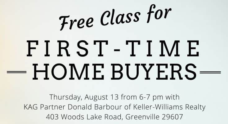 Free Class for First-Time Home-Buyers