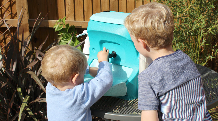 Encourage lots of hand washing advises Babycenter