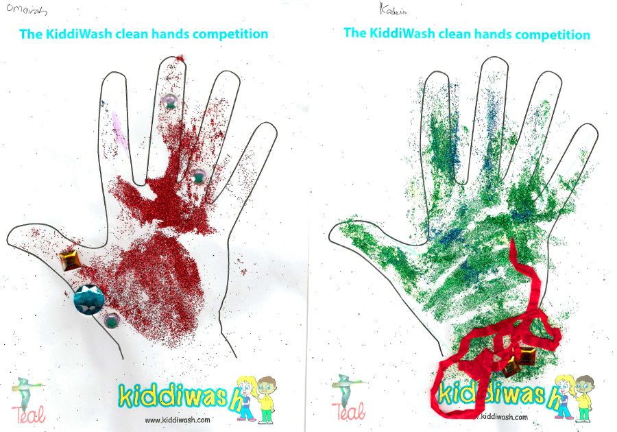 Kinder Day Nursery join in hand washing competition