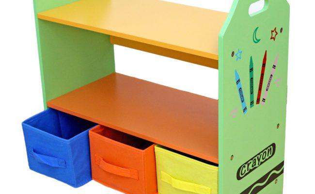 Kiddi Style Crayon Shelves Storage Kiddy Products