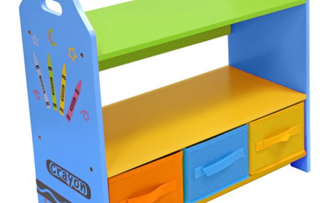 Kiddi Style Crayon Shelves Storage Kiddy Products