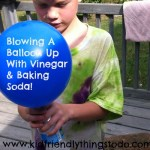 Blowing Up A Balloon With Vinegar And Baking Soda Gas – Kid Friendly Things To Do .com
