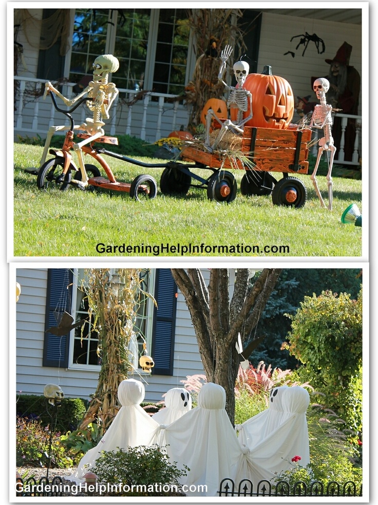 hilarious skeleton decorations for your yard on halloween kid friendly things to. Black Bedroom Furniture Sets. Home Design Ideas