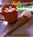 Fall Hot Cocoa Cones – Kid Friendly Things To Do .com