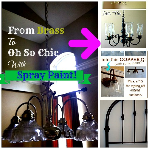 rustoleum spray paint transformation ideas for your diy