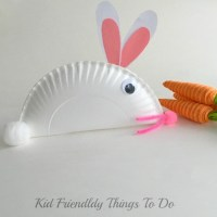 Fun and Easy Paper Plate Bunny Craft for Kids
