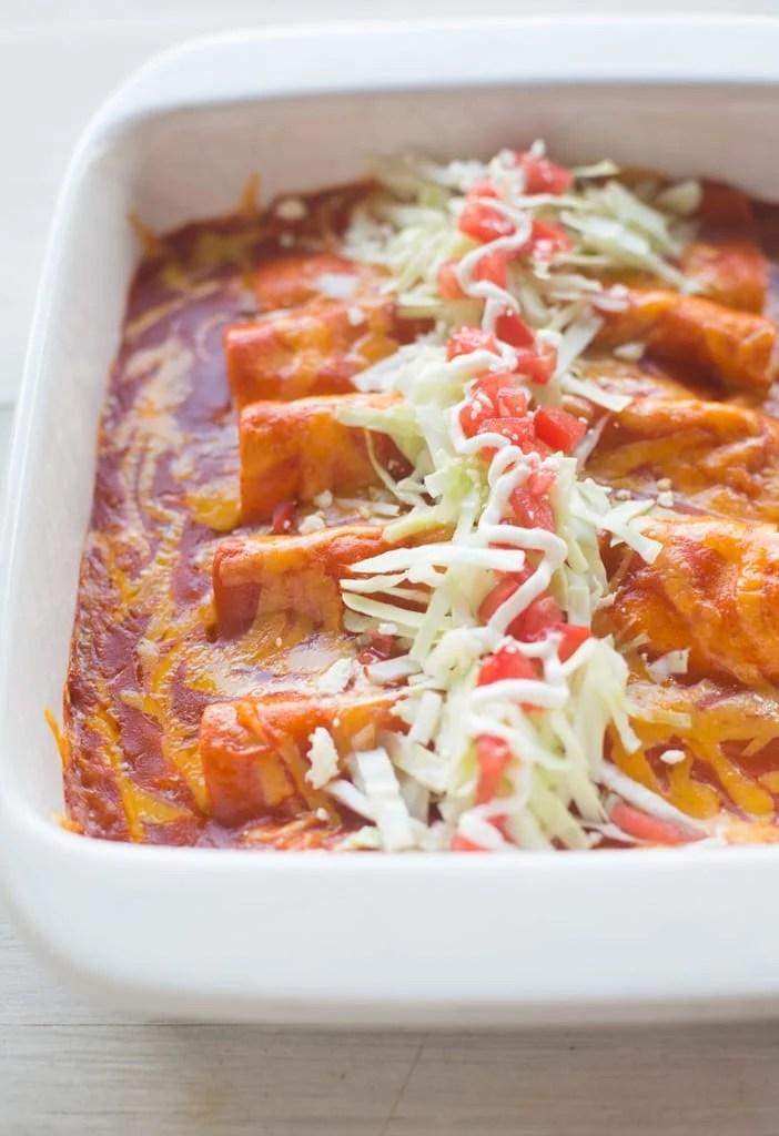 Watch Skinny White Chicken Enchiladas video