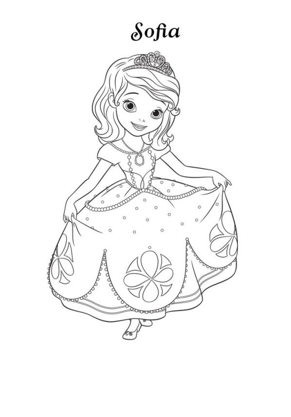 Prinzessin Sofia Schloss Kids-n-fun.com | 13 Coloring Pages Of Sofia The First