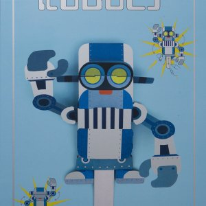make & move robots | libri in inglese per bambini