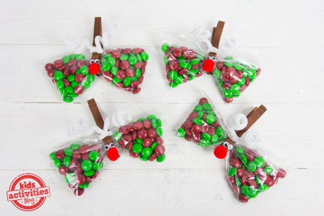 Reindeer Treat Bags To Make For This Year\u0027s Christmas Party