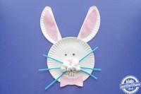 Paper Plate Easter Bunny Craft | Kids Activities Blog