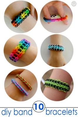 Band Bracelets for Kids to Make