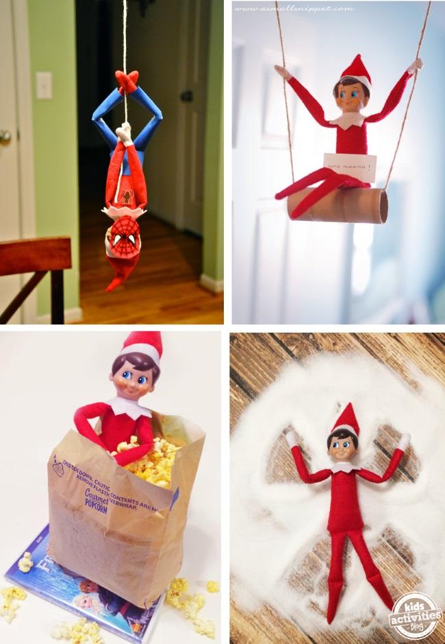 Elf On The Shelf Ideas Kids Activities