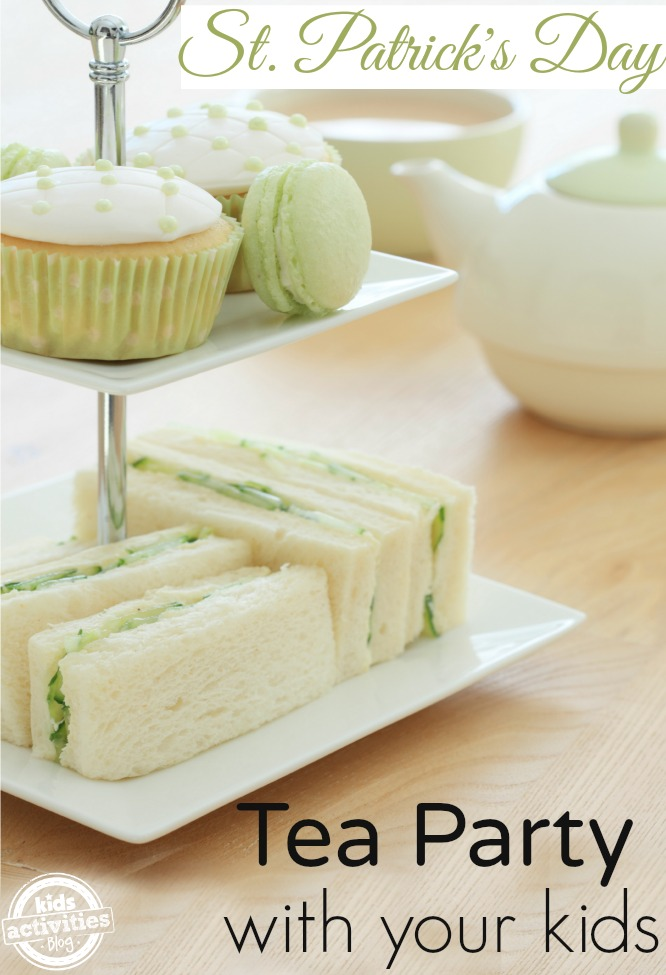 How To Host A St Patrick\u0027s Day Tea Party With Kids