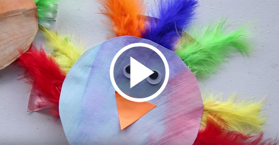 Adorable Paper Plate Bird Craft Kids Activities Blog