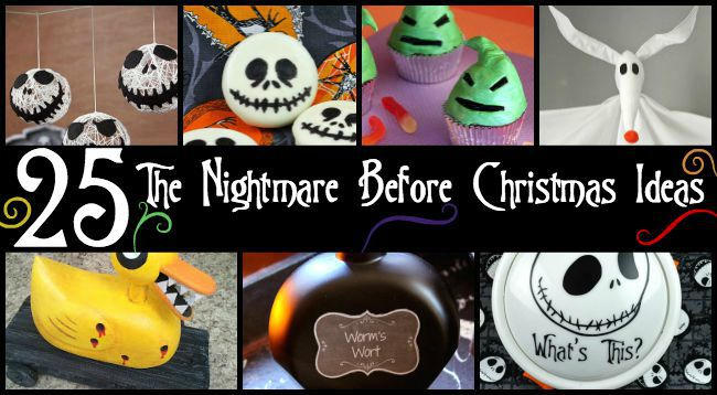 25 The Nightmare Before Christmas Ideas - nightmare before christmas baby shower decorations