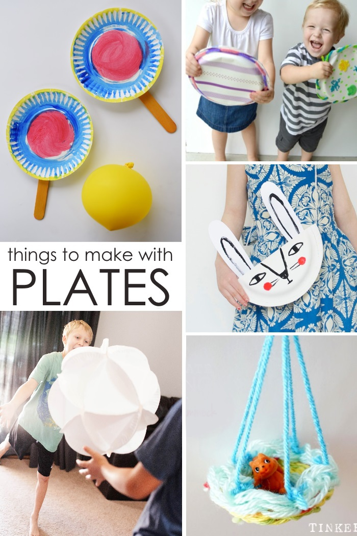 Crazy Things You Can Make With A Paper Plate