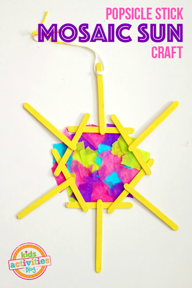 crafts for kids popsicle stick
