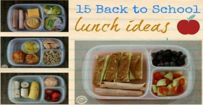 15 Back to School Lunch Ideas