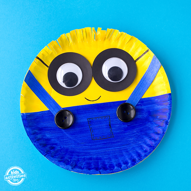 Easy Paper Plate Minion Craft Fullact Trending Stories