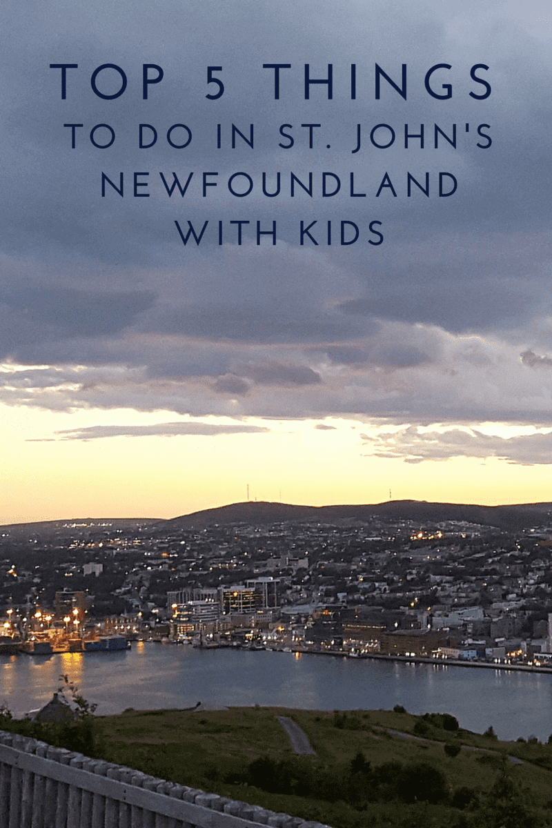 Top 5 Things to do in St. John's, Newfoundland