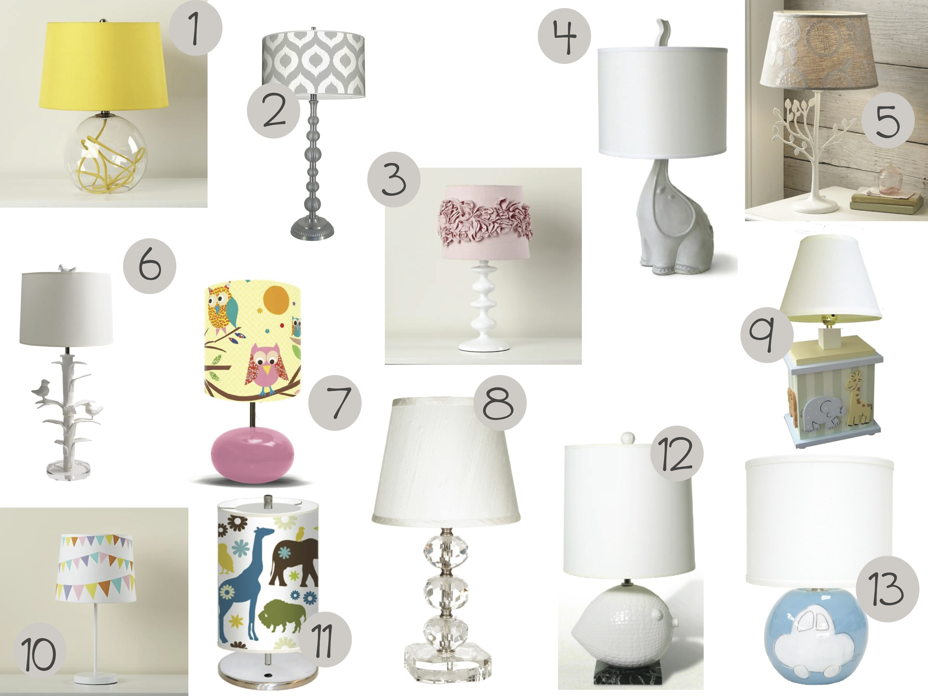 Table Lamps For Kids In The Spotlight With Table Lamps Kids Are From Pluto A