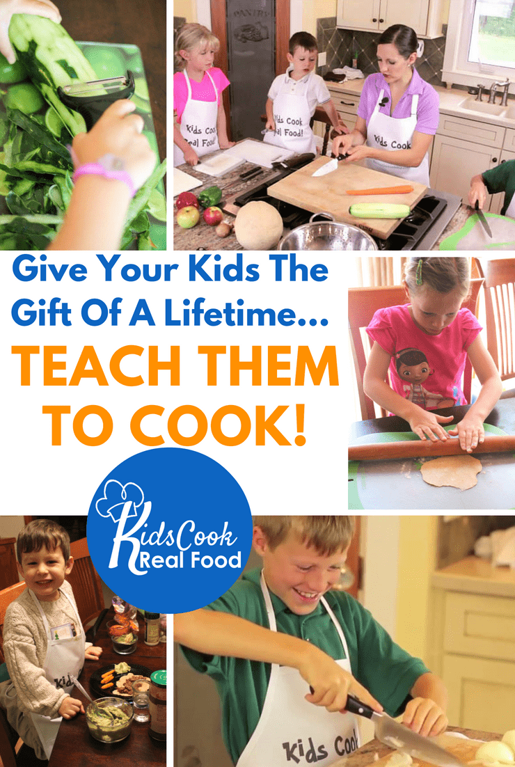 Teach your kids to cook (even if you can't). Teaching Kids To Cook is teaching an important life skill.