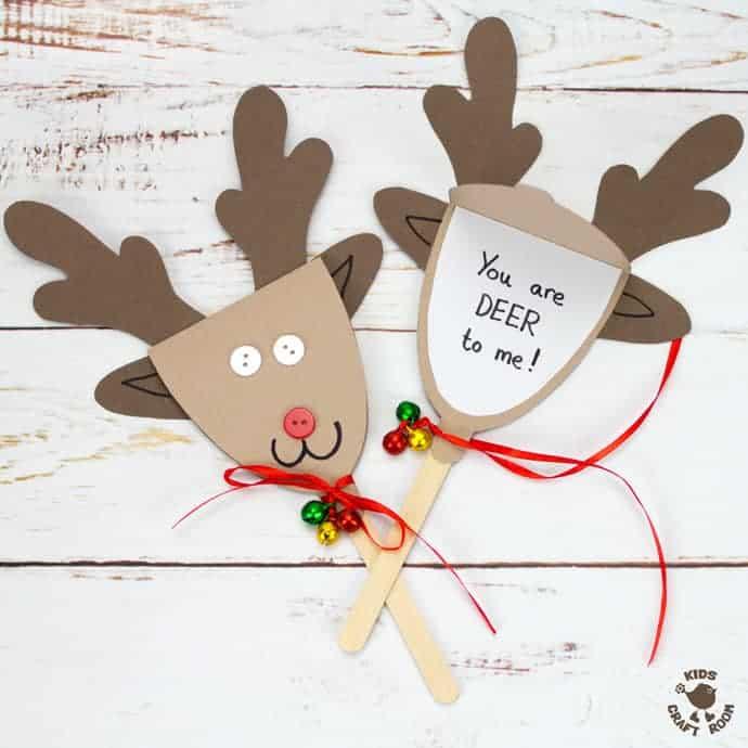 Printable Reindeer Antlers to Colour and Wear - Kids Craft Room