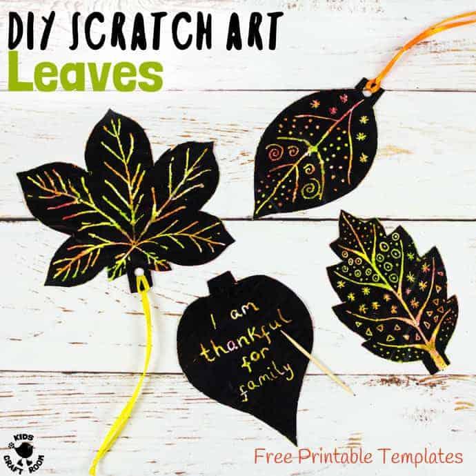 Free Printable Leaf Templates - Kids Craft Room