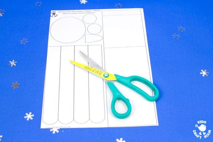 Free Printable Polar Bear Puppet Template - Kids Craft Room