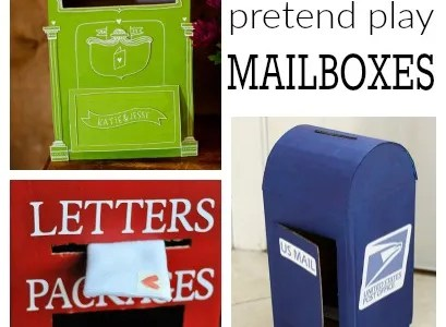 Pretend Play – Mail Boxes
