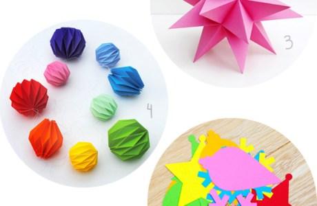 7 Amazing Printable Paper Decorations